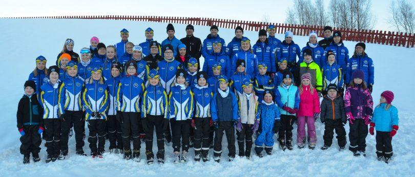 Malax IF skidor gruppbild 2018